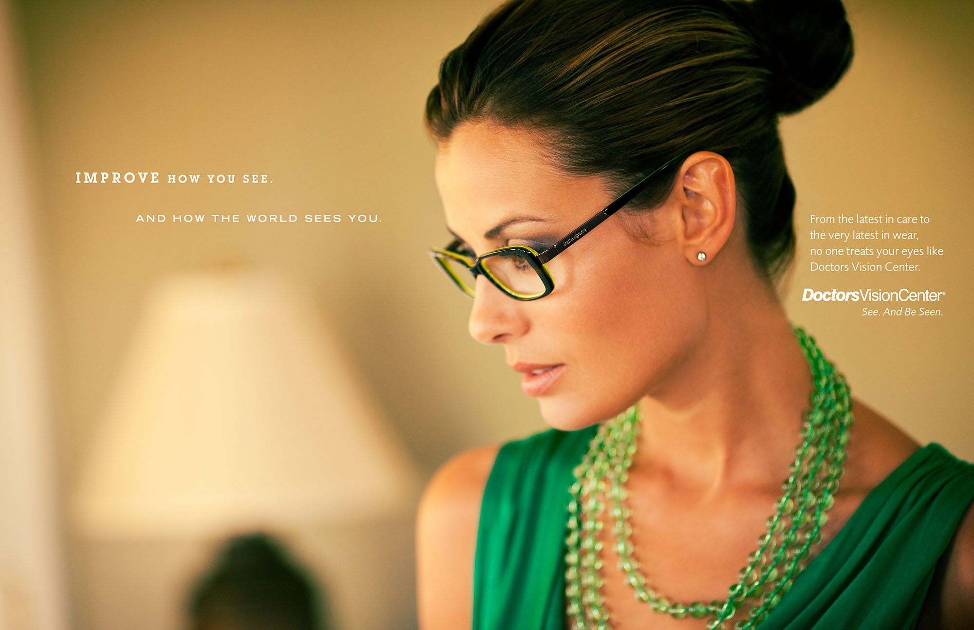 Doctors Vision Center Print Ad