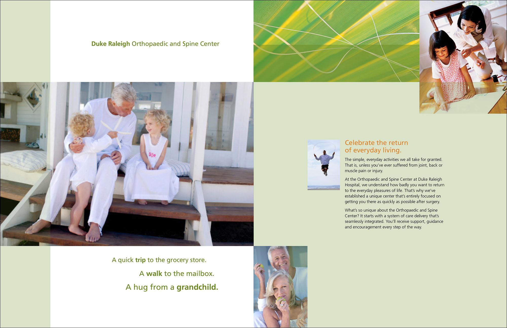 Duke Raleigh Print Brochure