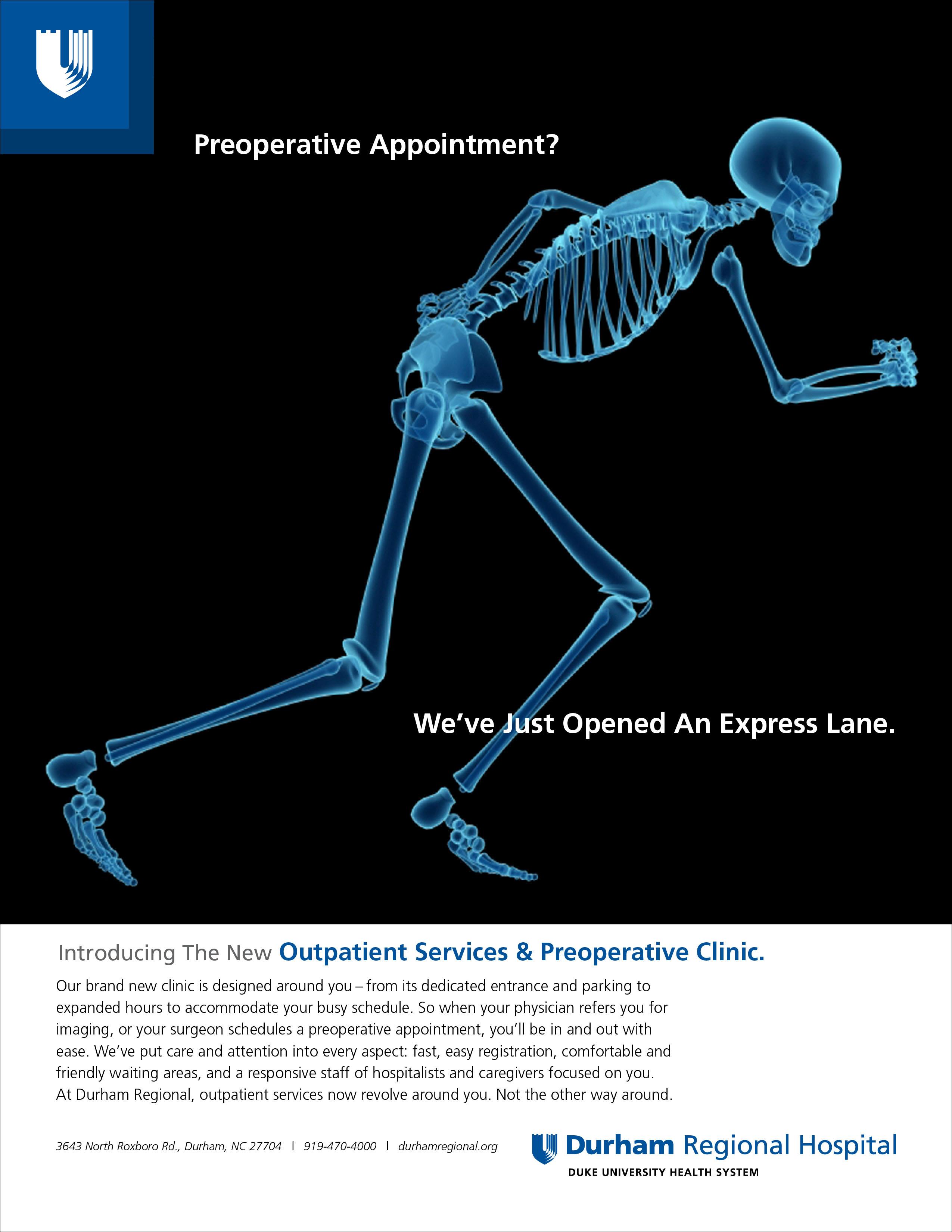 Duke Regional Hospital Print Ad