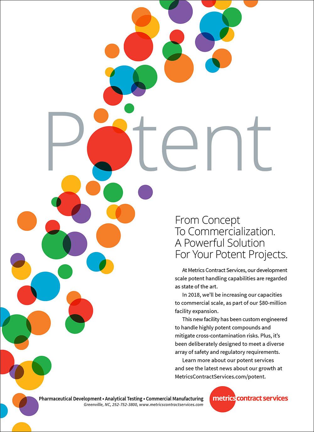 Metrics Contract Services Print Ad
