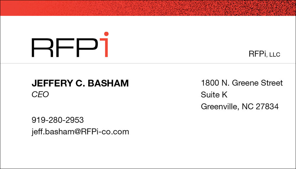 RFPi Business Card
