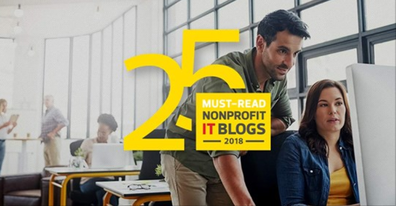 Top 25 Must-Read NonProfit IT Blogs Graphic